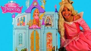 Disney Princess Royal Dreams Castle with Princess Aurora!    Disney Toy Review    Konas2002