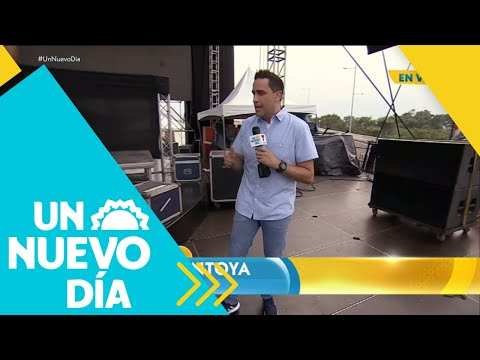 Te mostramos todo sobre el concierto 'Venezuela Aid Live' | Un Nuevo Día | Telemundo