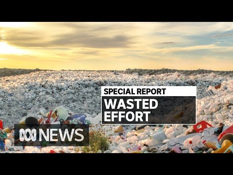 Dealing With The Growing Recycling Crisis   ABC News