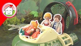 Playmobil Film Deutsch - Im Wasser Funpark - Wasserrutsche Hovercraft Mit Familie Hauser