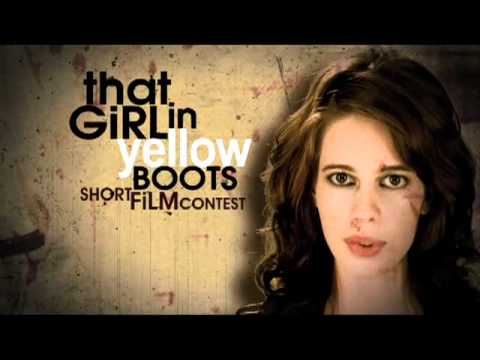 that girl in yellow boots contest promo