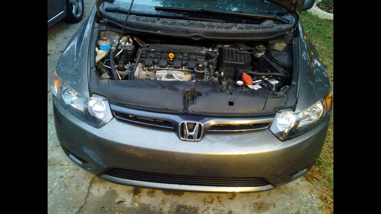 Honda Civic 2007 Misfire P0300  YouTube