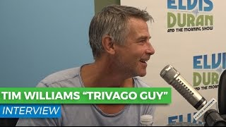 Tim Williams on Being the 'TRIVAGO Guy' and Being a Heartthrob | Elvis Duran Show