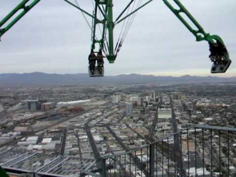 Roller Coaster Videos: Stratosphere Insanity Ride - YouTube