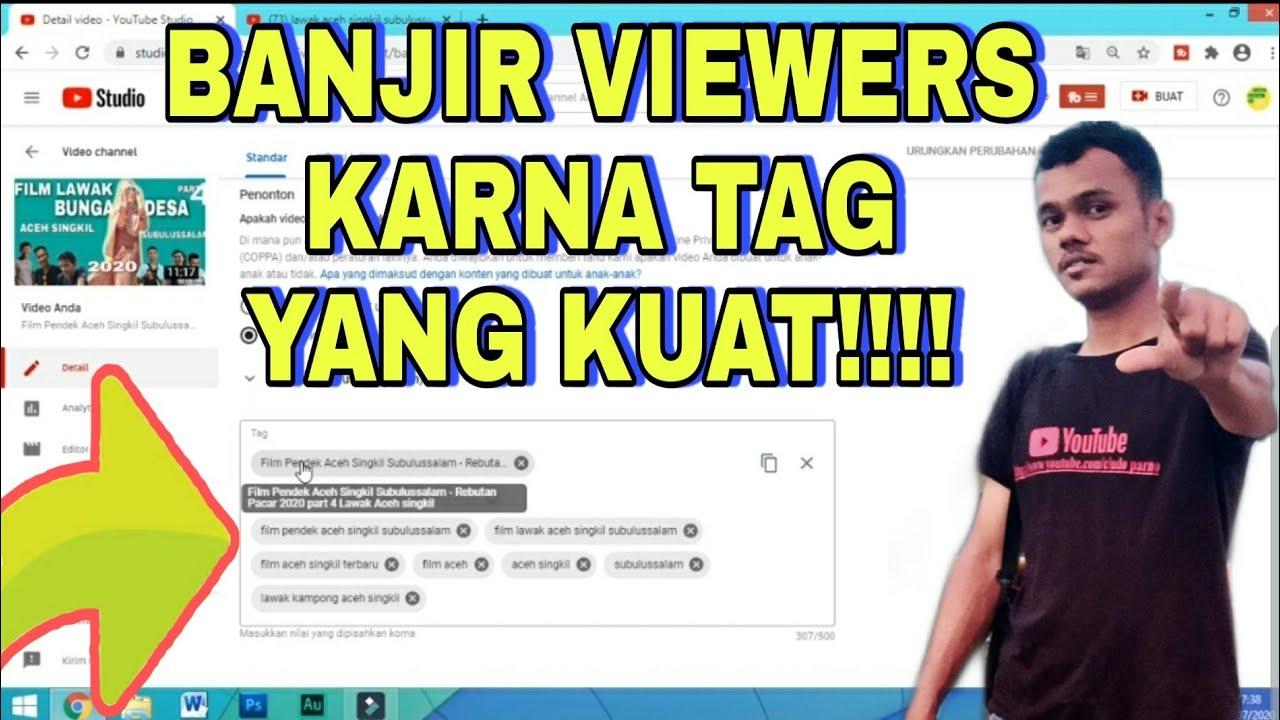 Cara Membuat Tag Video Yang Banyak Di Cari Di Youtube