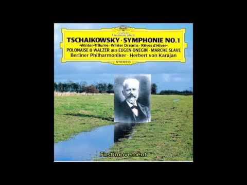 "Tchaikovsky - Symphony No.1  G Minor Op.13 ""illusion Of Winter Day""  Karajan Berlin Philharmonic"