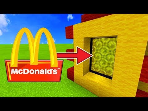 How To Make a Portal to the McDonalds Dimension in Minecraft!