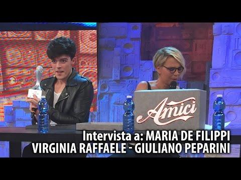 AMICI 14 - LA FINALE | Maria De Filippi, Virginia Raffaele e Giuliano Peparini intervistati