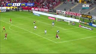 Gol   Atlas 1 - 1 Atlético Zacatepec   Copa MX - Apertura 2018 - Jornada 1   AtlasFC