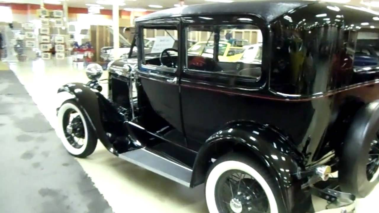 1930 ford model a tudor sedan very nicely restored original youtube