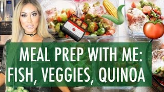 MEAL PREP WITH ME: FISH, VEGGIES, QUINOA | @ArikaSato