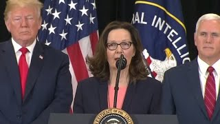 Gina Haspel sworn in as new CIA Director