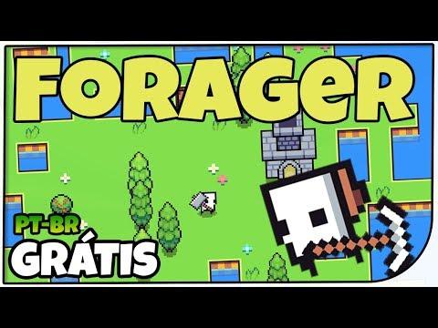 Forager - Mistura de Stardew Valley + Zelda - Gameplay em Português PT-BR