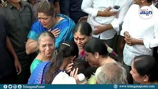 YS Jagan & his family pays tribute to Vivekanandha Reddy   Telangana Poster