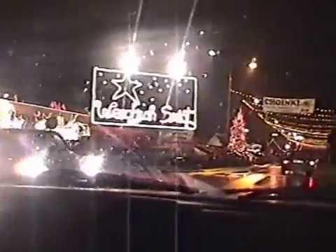 Białystok - Szopka Bożonarodzeniowa przy centrum handlowym MARKO - 17.12.2000
