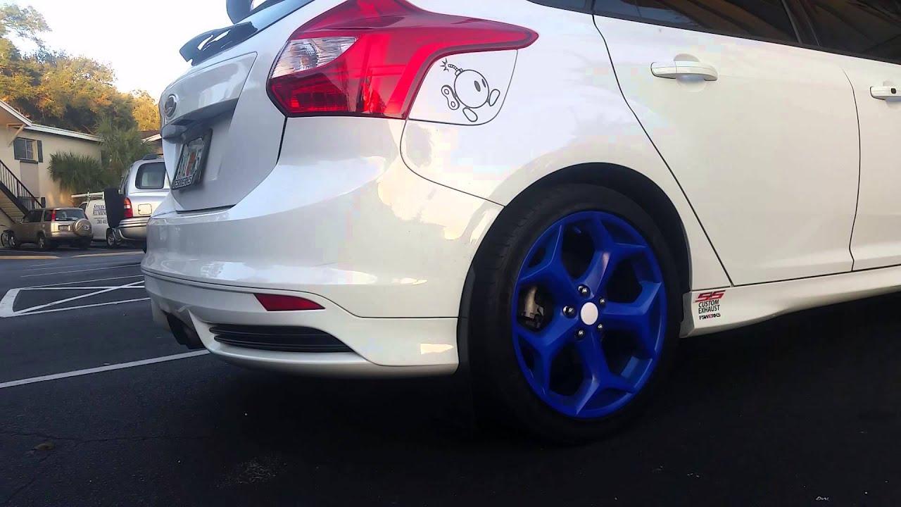 Custom Focus St >> 2014 Focus St Custom Exhaust Youtube