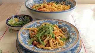How to make Ricci or Ringlet Pasta  Pasta Grannies