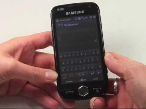 Samsung i8000 Omnia 2 Test Bedienung