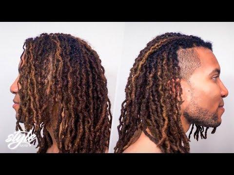 Crinkle dreads