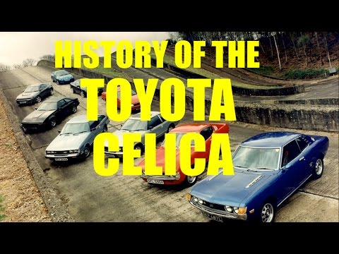 A Brief History Of The Toyota Celica