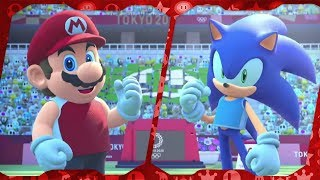 Mario & Sonic at the Olympic Games Tokyo 2020 for Switch ᴴᴰ (2019) Full Playthrough