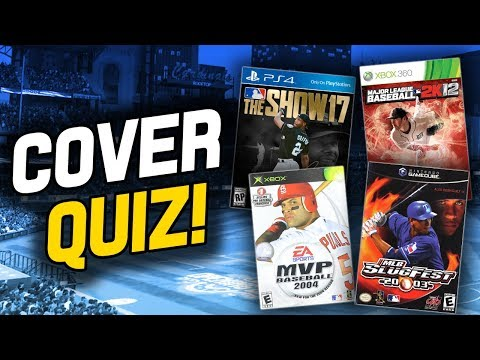 MLB VIDEO GAME COVER ATHLETE QUIZ! HOW FAST CAN I NAME THE 30 TEAMS?!