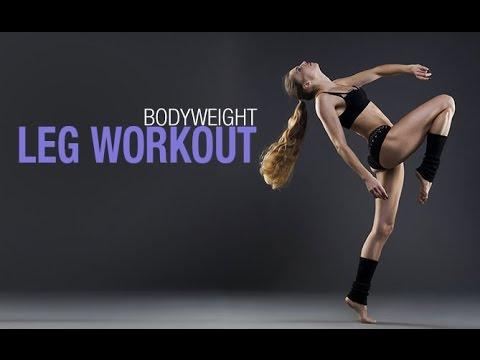 Bodyweight Legs Workout BEST HOME LEG ROUTINE