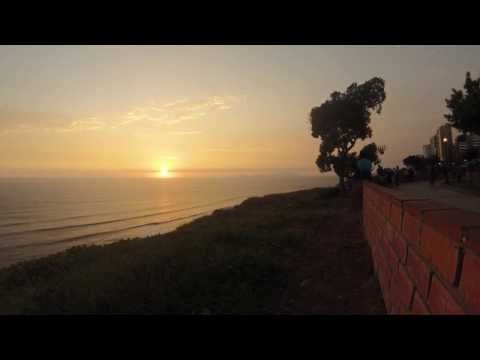Miraflores Sunset - Lima, Peru - Time-lapse