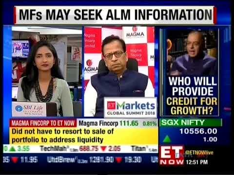 ET Now Markets | Sanjay Chamria, Vice Chairman & MD Magma Fincorp | 26 Nov 2018
