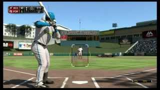 MLB 15 The Show :: SHOW THE REPLAY! MY 1st HOME RUN! :: MLB 15 The Show Road To The Show Ep 5