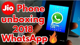 JIO phone unboxing in Hindi New 2020 Update phone by Techno-Digital