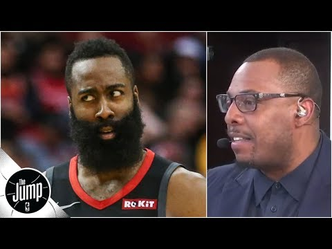 James Harden could become the best NBA MVP runner-up ever - Paul Pierce | The Jump thumbnail