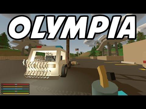 "UNTURNED - E23 ""Olympia Military Base!"" (WASHINGTON Role-Playthrough 1080p)"