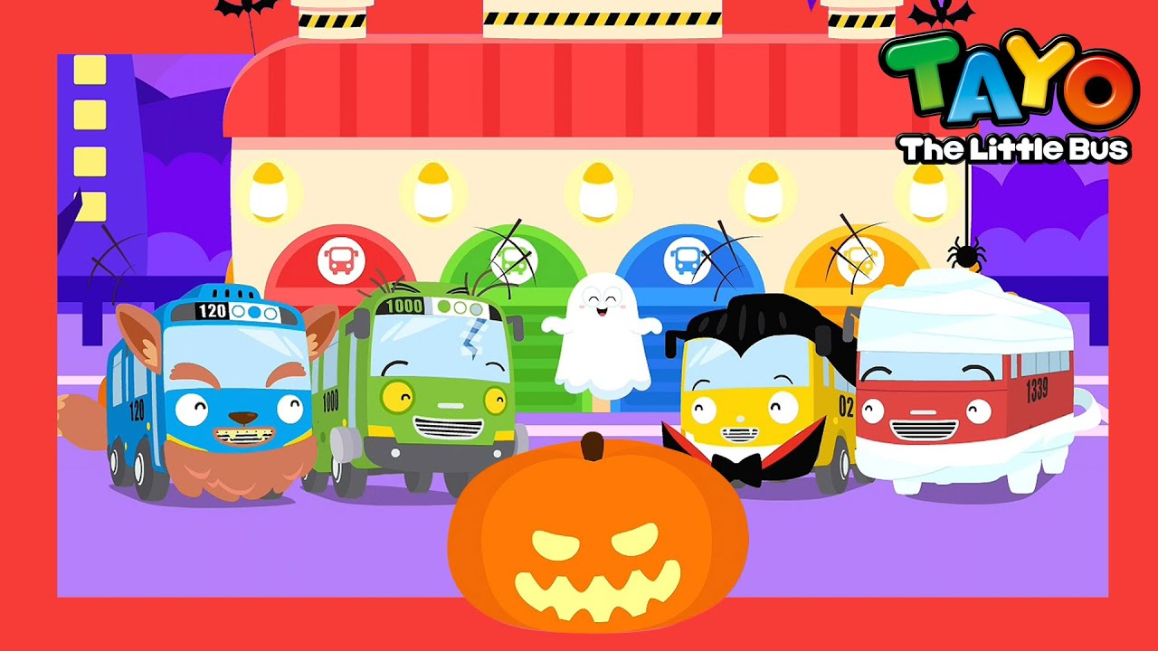 *NEW* Baby Ghost's Hide and Seek l Learn Colors l Tayo Songs for Children l Tayo the Little Bus