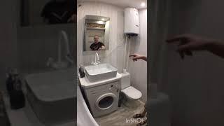 #Ванная #комната,#в #деревянном #доме, #своими #руками!