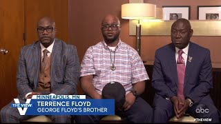 "Ben Crump, Terrence and Philonise Floyd React to ""Justice"" of Derek Chauvin's Conviction 