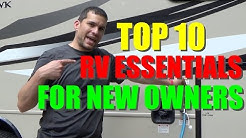 RV Essentials For the New Owner