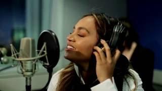 Jess Mauboy sings