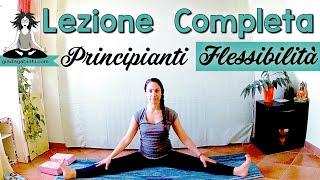 Yoga Principianti - PRATICA COMPLETA 30min - Flessibilità SCHIENA