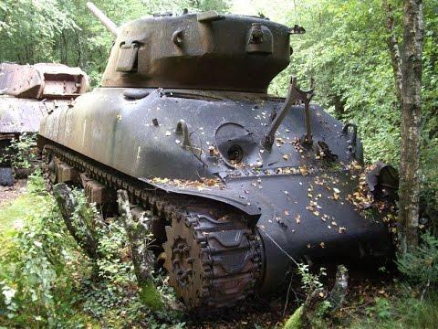 Брошенная военная техника