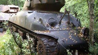 Брошенная военная техника боевые машины в тайге