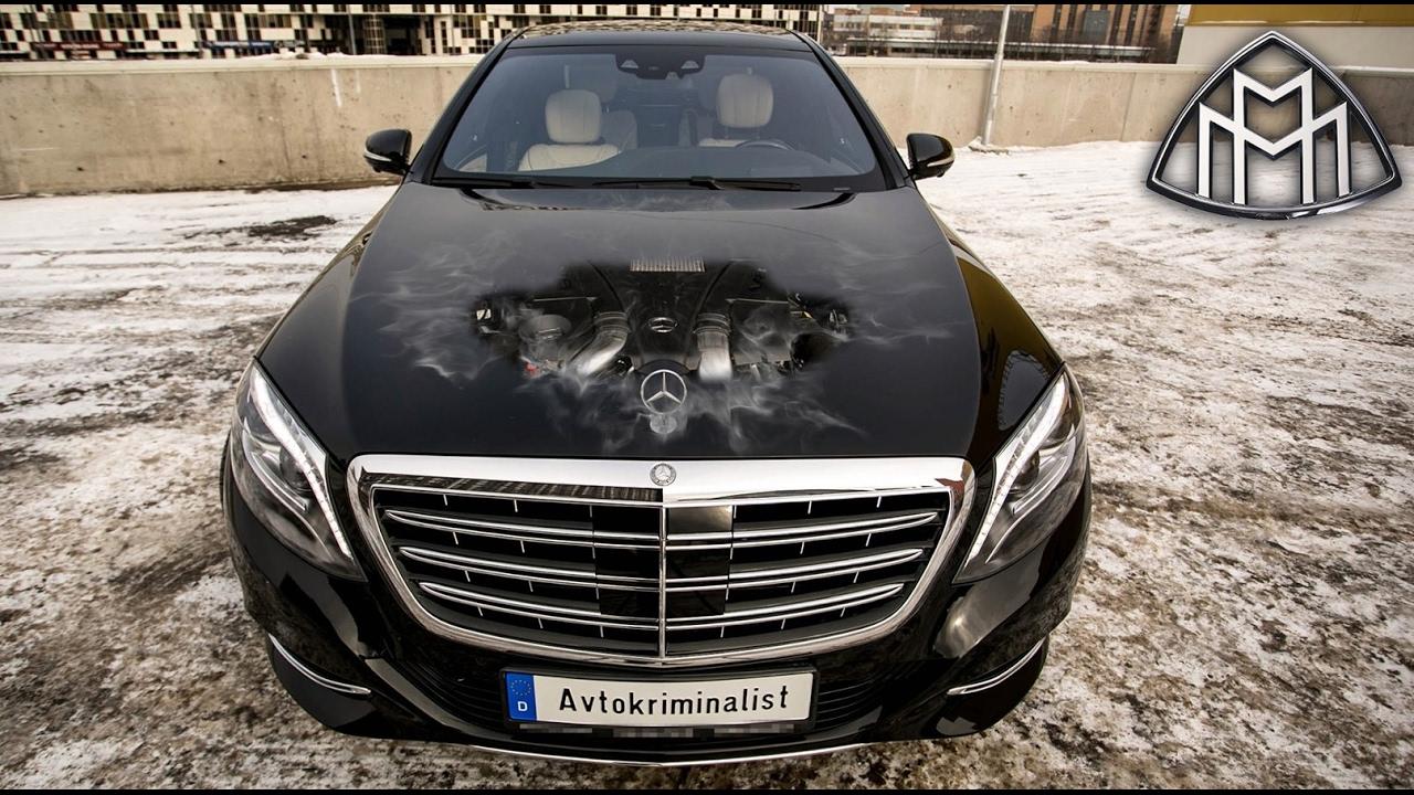 MAYBACH - как потерять 6.000.000р за 2 года!? Улучшенный Mercedes-Benz W222