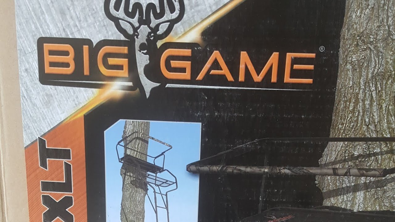 Big Game Xlt Guardian Tree Stand Review Youtube