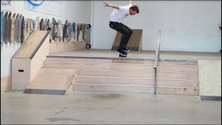 HOW TO KICKFLIP OFF STAIRS AND DROPS