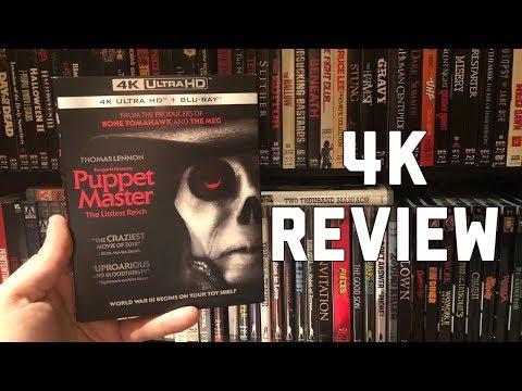 Puppet Master: The Littlest Reich 4K Blu-ray Review | New Fangoria Horror Movie!