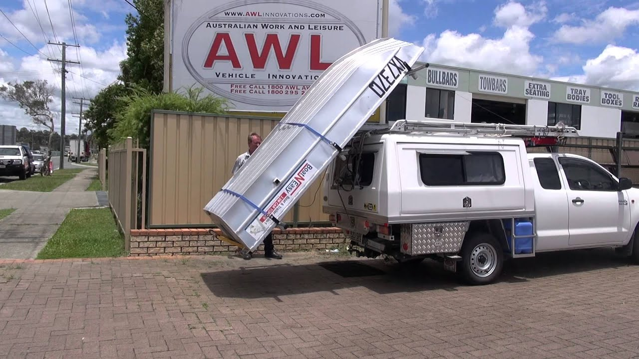 Awl Canopies Presents Adventure Ezi Loader To Suit Car