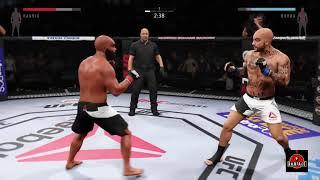 BOOBA VS KAARIS COMBAT DANS L' OCTOGONE !! ON ATTEND LA DATE MMA   UFC SIMULATION   YouTube