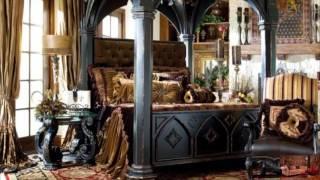 видео Мебель для бильярдной в античном стиле