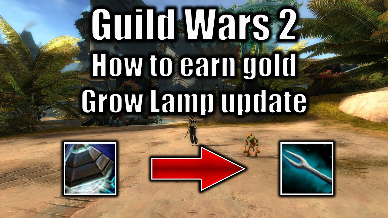 Guild Wars 2 gold guide: How to earn gold Grow Lamp update ... Quartz Crystal Gw2