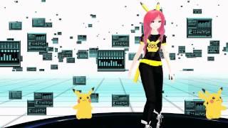 Video [MMD] Liachu Model - Pika Girl download MP3, 3GP, MP4, WEBM, AVI, FLV Juni 2018